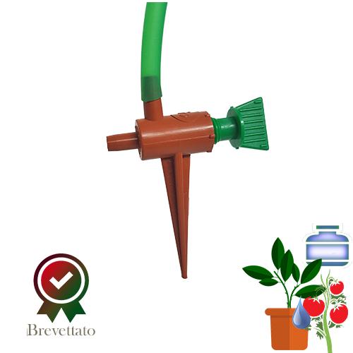 IDRORTOGIARDINO irrigazione con recipienti