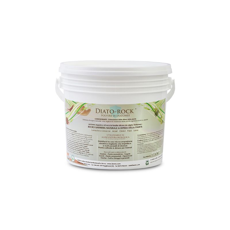DIATO-ROCK® polvere di alghe Diatomee